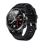 cheap -L12 Smart Watch ECGPPG IP68 Waterproof Bluetooth Call Blood Pressure Heart Rate Sports Smartwatch For HuaWei IOS Phone