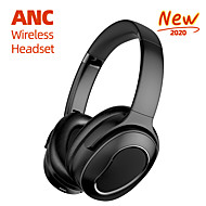 cheap -LITBest H001 Over-ear ANC Wireless Headphone Bluetooth 5.0 Active Noice-Cancelling with Microphone Volume Control HIFI for Office Business Travel Fit All Phone