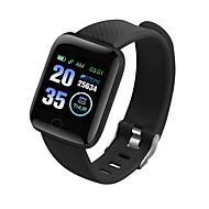 cheap -CD13 Men Women Smart Bracelet Smartwatch Android iOS Bluetooth Waterproof Heart Rate Monitor Blood Pressure Measurement Sports Calories Burned Pedometer Call Reminder Activity Tracker Sleep