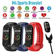 cheap -M4 Smart Band Fitness Tracker Smart Watch Sport Smart Bracelet Heart Rate Blood Pressure Smartband Monitor Health Wristband