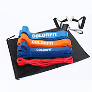 cheap -Pull up Assistance Bands 5 pcs Sports Latex Home Workout Exercise & Fitness Gym Workout Portable Non Toxic Durable Muscular Bodyweight Training Resistance Training Strength Trainer For Men Women
