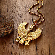 cheap -Pendant Necklace Classic Eagle Fashion Titanium Steel Gold 55 cm Necklace Jewelry For