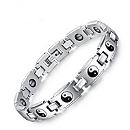 cheap -Chain Bracelet Classic Fashion Fashion Titanium Steel Bracelet Jewelry Silver For Anniversary Party Evening Festival