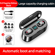 cheap -LITBest F9 TWS True Wireless Earbuds Wireless Bluetooth 5.0 Stereo Dual Drivers with Charging Box IPX5 Mobile Power for Smartphones for Premium Audio