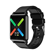 cheap -F54 Smart Watch Body temperature monitoring Health Band 1.3 inch Screen Women Men Sports Watch Call Message Reminder