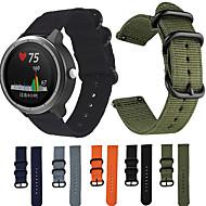 1 Pcs Watch Band Nylon Canvas Strap for Garmin Vivoactive 3 / Vivoactive 3 Music  Nylon Replacement Wristband Smart Bracelet for Garmin Vivoactive 3 / Vivomove HR / Forerunner 245 / 245M