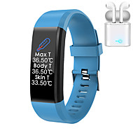 cheap -JSBP Y2  Women Smart Bracelet Smartwatch ECGPPG BT Fitness Equipment Monitor Waterproof with TWS Bluetooth HeadsetTake Body Temperature for Android Samsung/Huawei/Xiaomi iOS Mobile Phone