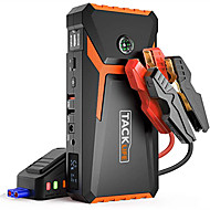 cheap -tacklife T8 12 V 800 A peak 18000 mAh Automotive JUMP entry (UP TO 6.5L gas or 5.5L diesel engine) automatic rechargeable battery increase portable POWER PACK with quick-charge cigarette lighter adapt