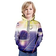 cheap -Kids Boys' Basic Galaxy Long Sleeve Hoodie & Sweatshirt Lavender