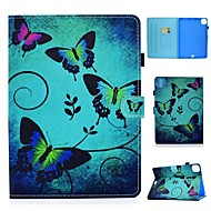 cheap -Case For Apple iPad 10.2 Air 10.5 2019 Pro 11 2020 iPad Mini 12345 2017 2018 9.7 Card Holder with Stand Pattern Full Body Cases Butterfly PU Leather