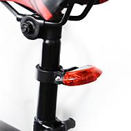 お買い得  -自転車用ライト ホルダー Waterproof 自転車グローライト バイク サイクリング スーパーブライト LED ライトウェイト CR2032 5 lm レッド サイクリング