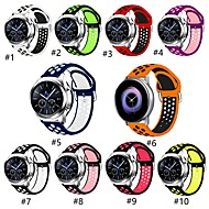 cheap -Samsung Galaxy watch S3 / S4 Apple reverse button Nike two color silicone 22mm strap