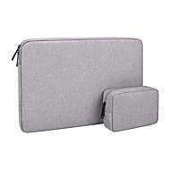 お買い得  -Macbookキャリングケースノートブックポータブルポケットケースタブレットブリーフケース1ピース用ラップトップスリーブバッグ