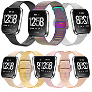 cheap -Watch Band for Fitbit Versa / Fitbi Versa Lite / Fitbit  Versa 2 Fitbit Milanese Loop Stainless Steel Wrist Strap