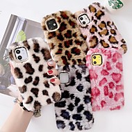 cheap -Case For iPhone SE 2020 iPhone 11 Pro Max iPhone XS Max Plush Leopard Print Back Cover Case For iPhone XR XS X iPhone 7 8 Plus 6 6s Plus 5S Se 5G