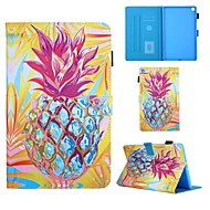 cheap -Case For Samsung Galaxy Tab A 10.1(2019)T510 Tab A 8.0(2019)T290 295 TAB A 7.0 T280 T285 T580 Card Holder with Stand Flip Full Body Cases Food PU Leather