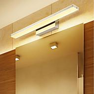 Недорогие -Зеркало светодиодное современная ванная комната освещение гостиной ванной металлический настенный светильник IP20 220-240 В