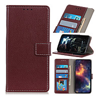 cheap -Case For Huawei P Smart Z P Smart 2020 P Smart Plus2019 P20lite Y6Pro Y9Prime Honor9X 20 20S 20Pro 20lite Play3e Nova5 5T 5i 5Pro Shockproof Magnetic Full Body Cases Lines Solid Colored PU Leather TPU