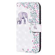 cheap -Case For Sony Xperia L4 Card Holder Flip  Pattern Full Body Cases Animal PU Leather