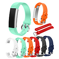 cheap -Watch Band for Fitbit Alta Fitbit Classic Buckle Silicone Wrist Strap