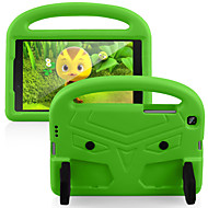 cheap -Case For Samsung Galaxy Samsung Tab A 8.0(2019)T290 295 Galaxy Tab A 8.4 (2020) with Stand Back Cover Solid Colored Cartoon EVA