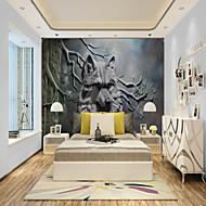 Недорогие -пользовательские самоклеющиеся настенные обои искусство волк подходит для спальни гостиная кафе ресторан украшение стен отеля искусство настенная ткань покрытие для стен комнаты