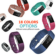 cheap -18 Colors Silicone Replacement Bands For Fitbit Charge 2 Band Wristband Accessories Wrist Bracelet Strap For Fitbit Charge2 Band