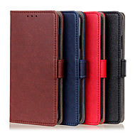 cheap -Case For Huawei P40 P40Pro P40lite E P40lite(5G) P40ProPlus Honor 9C 30S 9A 30 30Pro 30ProPlus Play4T Pro Nova7 7SE 7Pro Wallet Card Holder Magnetic Full Body Cases Lines Solid Colored PU Leather TPU