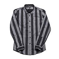 זול -בגדי ריקוד גברים חולצה פסים צמרות בסיסי שחור