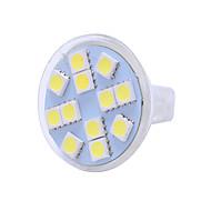 Недорогие -mr11 светодиодные лампы для стеклянных чашек 12v лампа прожектор точечная лампа кукуруза светодиодные 5050 12leds 5050 лампа бомба светодиодная * 1
