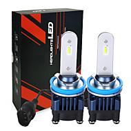 رخيصةأون -أصغر حجم قابل للتعديل الصمام مصباح السيارة الأمامي h7 السيارات مصباح 2600lm h11 h4 أدى 9005 25 واط سوبر سطوع ضوء السيارة لمبة