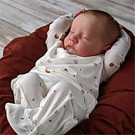 economico -20 pollice Bambole Reborn Per bambino e infante Bambola Reborn Levi Neonato realistico Fatto a mano Simulazione Testa floscia Tessuto Vinile siliconico con vestiti e accessori per regali di
