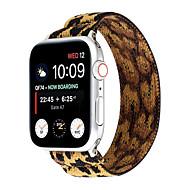 Недорогие -Эластичные ремешки для часов Apple Watch Band Series 5 4 3 2 1 для iwatch 38 мм 40 мм 42 мм 44 мм браслет подарок
