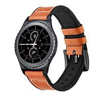 Недорогие -ремешок для часов samsung galaxy watch 46 мм samsung galaxy watch 42 мм samsung galaxy классическая пряжка ремешок из натуральной кожи