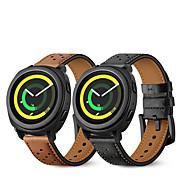Недорогие -Ремешок для часов для Gear Sport Samsung Galaxy Кожаный ремешок Натуральная кожа Повязка на запястье
