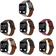 Недорогие -ремешок для часов для apple watch series 6 / se / 5/4/3/2/1 apple classic пряжка ремешок из натуральной кожи на запястье