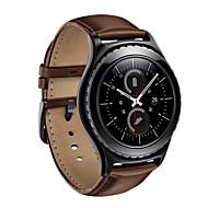 Недорогие -Ремешок для часов для Gear S2 Samsung Galaxy Кожаный ремешок Натуральная кожа Повязка на запястье