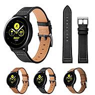 Недорогие -ремешок для часов для samsung galaxy watch active samsung galaxy watch active 2 кожаный ремешок для samsung galaxy ремешок из натуральной кожи