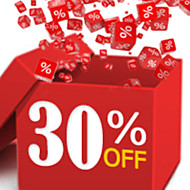 30% OFF & Up