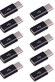 cheap -10pcs Micro USB to USB 3.1 Type-C Data Adapter