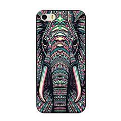 voordelige -hoesje Voor Apple iPhone 8 Plus / iPhone 8 / iPhone 7 Plus Patroon Achterkant dier / Olifant Hard TPU