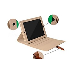 olcso -Case Kompatibilitás Apple iPad Mini 3/2/1 Állvánnyal Héjtok Egyszínű PU bőr