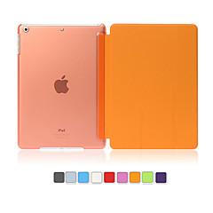 povoljno -Θήκη Za Apple iPad Mini 5 / iPad New Air (2019) / iPad Air sa stalkom / Automatsko gašenje / buđenje Korice Jednobojni PU koža