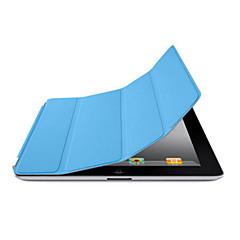 povoljno -Θήκη Za iPad 4/3/2 Jedna boja / Auto Sleep / Wake Up / Folio Case Posebni dizajni PU koža