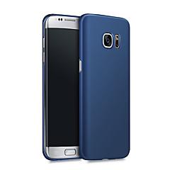 olcso -Case Kompatibilitás Samsung Galaxy S8 Plus / S8 / S7 edge Ütésálló / Ultra-vékeny Fekete tok Egyszínű Kemény PC