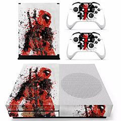 رخيصةأون -B-SKIN XBOX ONE  S PS / 2 لاصق من أجل اكس بوكس واحد S ، حداثة لاصق PVC 1 pcs وحدة