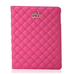 ieftine -Maska Pentru Apple / iPad Air / iPad Air 2 iPad Air / iPad 4/3/2 / iPad Mini 3/2/1 Cu Stand Carcasă Telefon Mată Greu PU piele / iPad 9.7 (2017)
