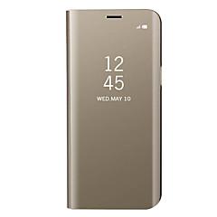 voordelige -hoesje Voor Samsung Galaxy A3 (2017) / A5 (2017) / A7 (2017) Beplating / Spiegel / Flip Volledig hoesje Effen Hard Metaal