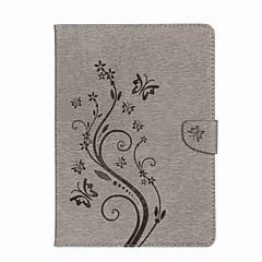 povoljno -Θήκη Za Apple iPad Air / iPad 4/3/2 / iPad Mini 3/2/1 Novčanik / Utor za kartice / sa stalkom Korice Rukav leptir / Cvijet Tvrdo PU koža / iPad Pro 10.5 / iPad 9.7 (2017)