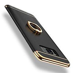 رخيصةأون -غطاء من أجل Samsung Galaxy S8 Plus / S8 دوران360ْ / ضد الصدمات / تصفيح غطاء خلفي لون سادة قاسي الكمبيوتر الشخصي